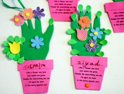 Regalos y manualidades dia de la madre Flores (2)
