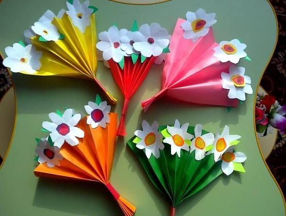 Regalos y manualidades dia de la madre flores 28 imagenes educativas - Manualidades con papel craft ...