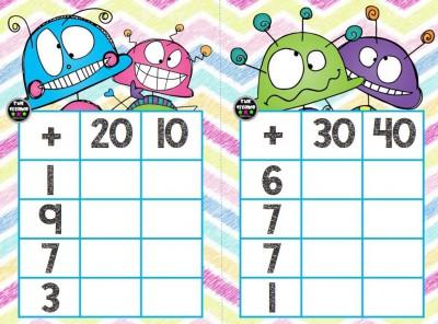 Súper bingos de sumas (2)