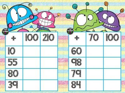 Súper bingos de sumas (4)