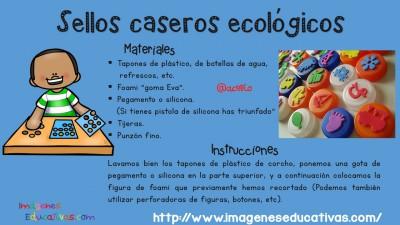 Sellos ecológicos caseros