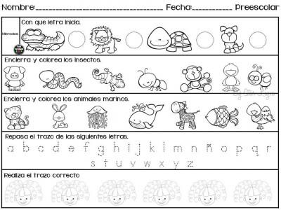 Semanario de actividades para preescolar actividades de refuerzo (3)