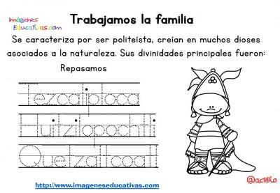 Tabajamos la lecto-escritura centro de interes los Aztecas (7)