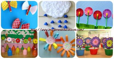 manualidades para niños y niñas especial primavera PORTADA