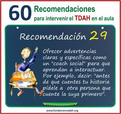 60 recomendaciones para intervenir el TDAH en el aula (29)