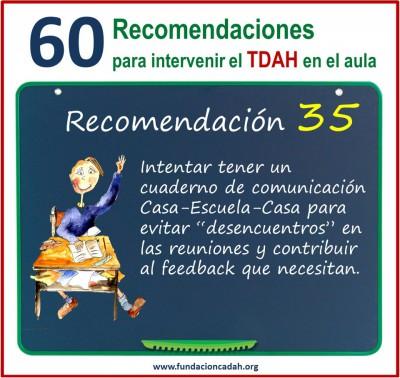 60 recomendaciones para intervenir el TDAH en el aula (35)