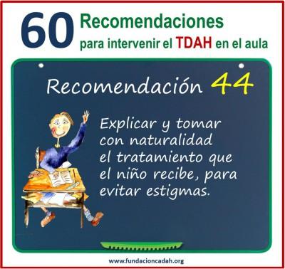 60 recomendaciones para intervenir el TDAH en el aula (44)
