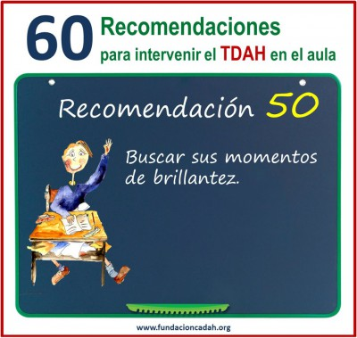 60 recomendaciones para intervenir el TDAH en el aula (50)