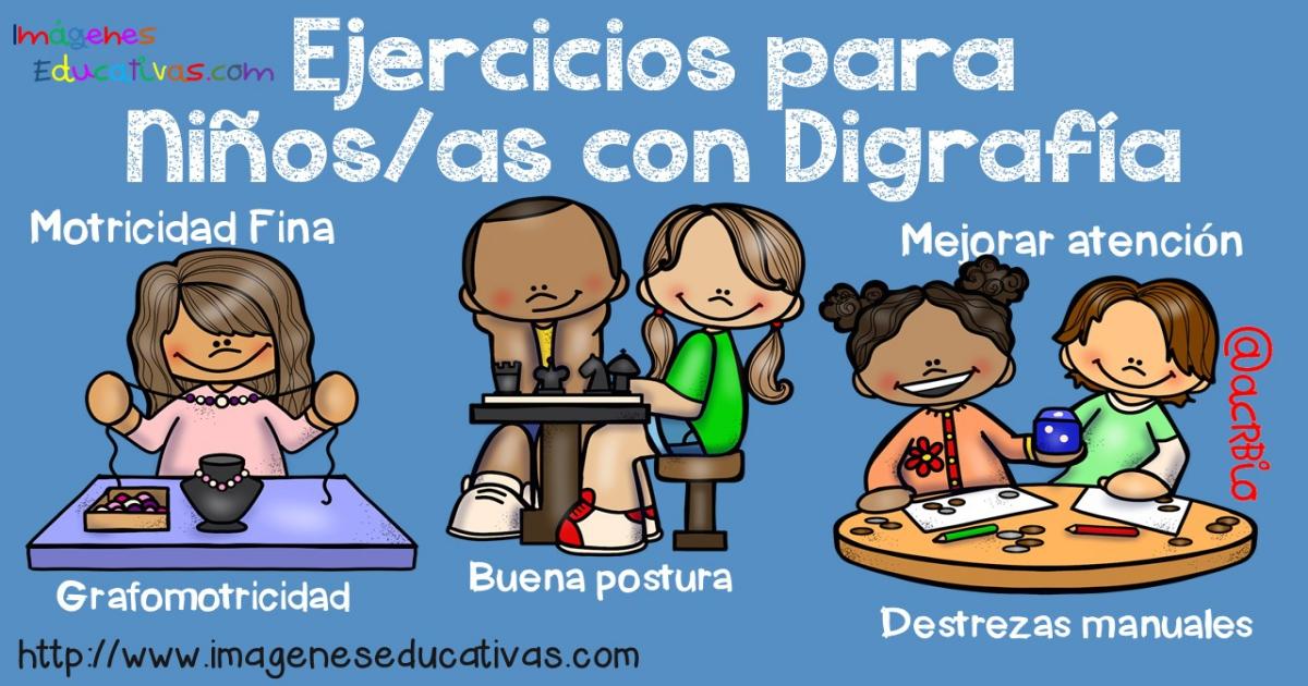 Ejercicios Para Niños Y Niñas Con Disgrafía Imagenes Educativas
