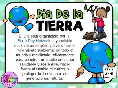Fichas para trabajar en el día de la Tierra - Imagenes Educativas