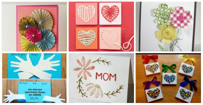 Tarjetas de felicitación para el Día de la Madre PORTADA