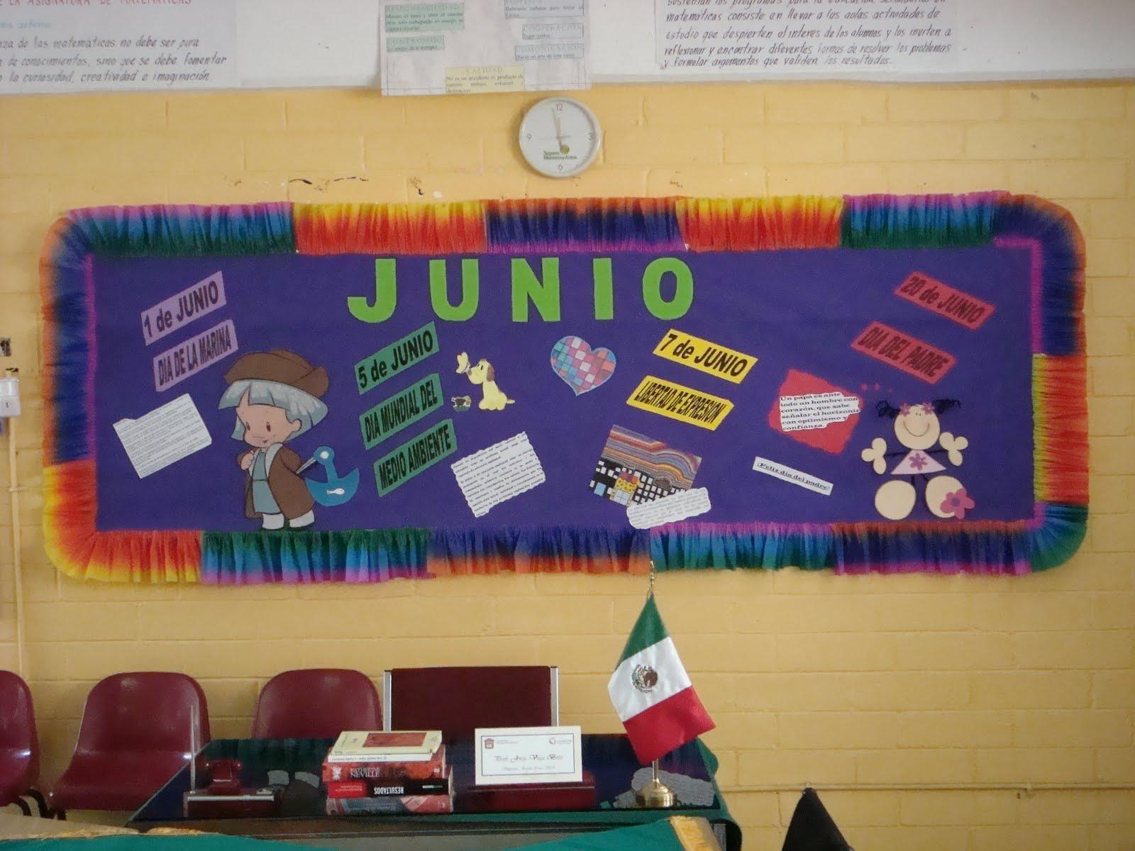 Periodico Mural Mes De Junio 11 Imagenes Educativas