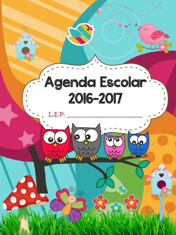 AGENDA ESCOLAR 2016 2017 BÚHOS (1) - Imagenes Educativas
