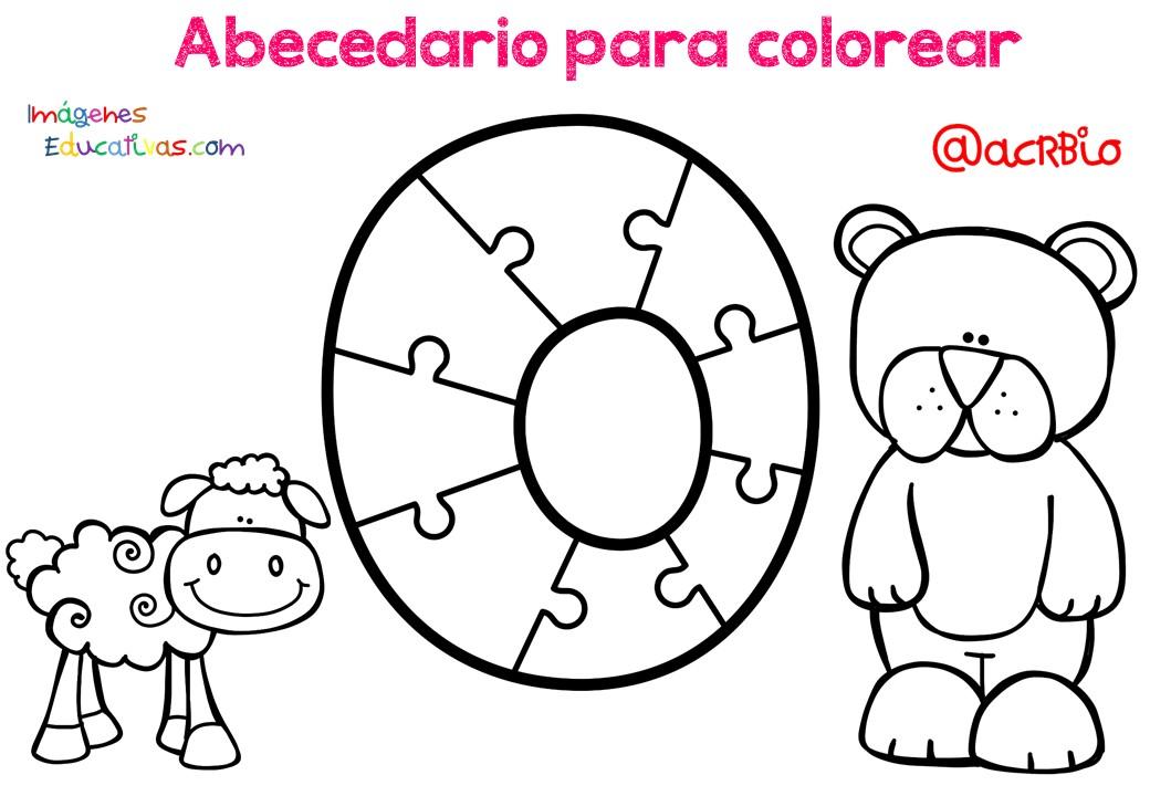 Imagenes Educativas Para Descargar: Abecedario Para Colorear (16)