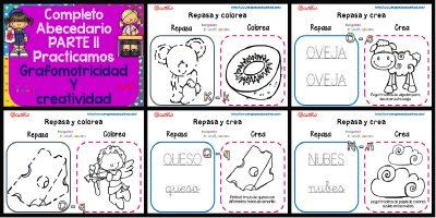 Cuadernillo de Grafomotricidad y creatividad II PORTADA
