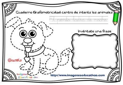 Cuaderno Grafomotricidad centro de interés los animales  (3)