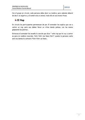 Dinámicas de grupo (8)