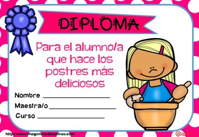 Diplomas FIN DE CURSO para premiar actitud y las capacidades (11)