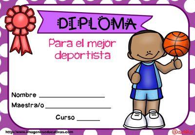 Diplomas FIN DE CURSO para premiar actitud y las capacidades (18)