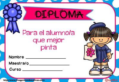 Diplomas FIN DE CURSO para premiar actitud y las capacidades (6)