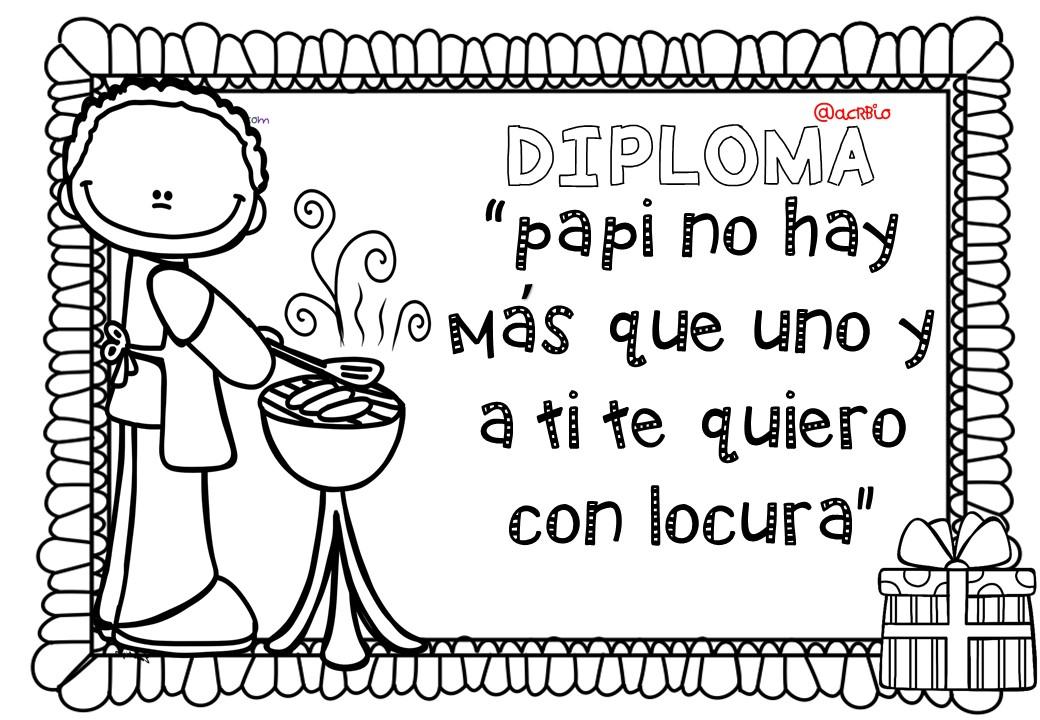 Diplomas da del Padre 6  Imagenes Educativas