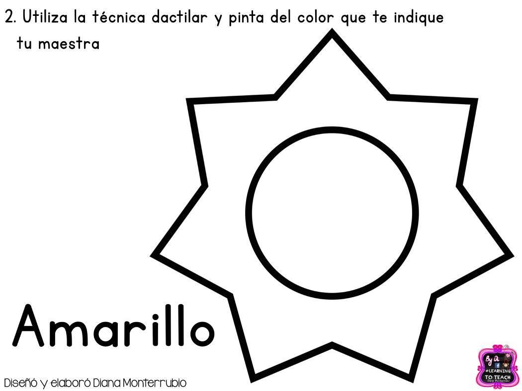 Colores Primarios Para Colorear Para Nios De Preescolar. Significado ...