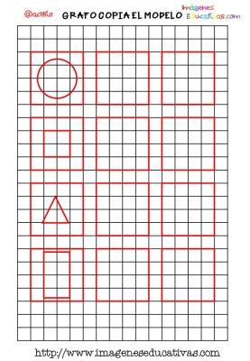 Grafomotricidad en pauta de cuadritos (2)