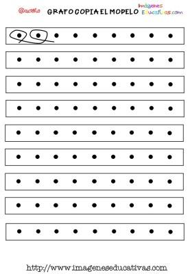 Grafomotricidad en pauta de cuadritos (4)