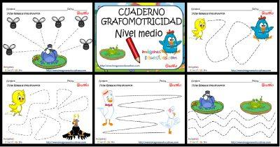 FICHAS Grafomotricidad Nivel Inicial  PORTADA