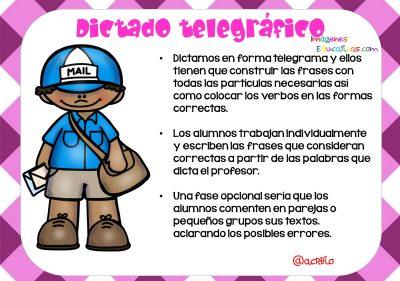 Tipos de dictados (3)