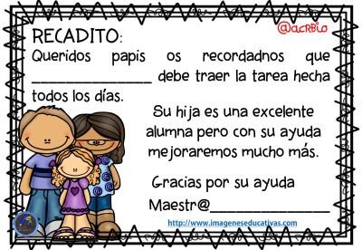 Avisos y recados para padres y madres (4)