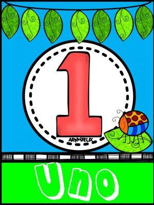 Carteles Números 1 al 10 (1)