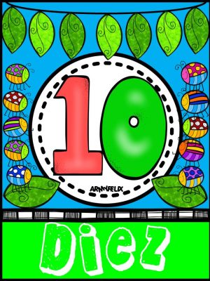 Carteles Números 1 al 10 (10)