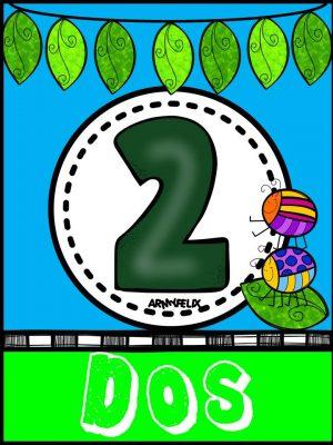 Carteles Números 1 al 10 (2)