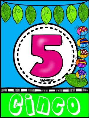 Carteles Números 1 al 10 (5)