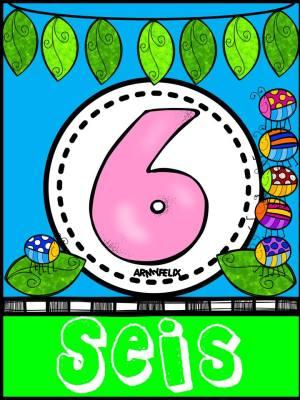 Carteles Números 1 al 10 (6)