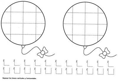 Fichas de grafomotricidad diferentes niveles (12)