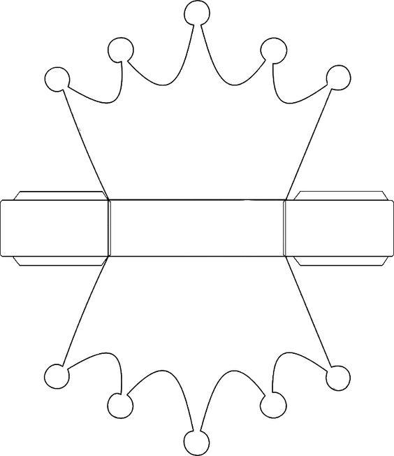 Moldes y plantillas coronas de cumplea os 1 imagenes - Modelos de coronas ...