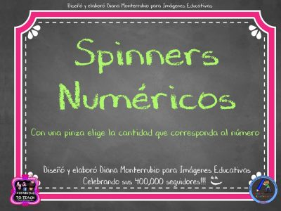 Spinners numéricos trabajamos el conteo (1)