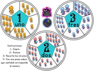 Spinners numéricos trabajamos el conteo (2)
