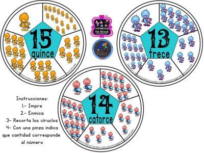 Spinners numéricos trabajamos el conteo (6)