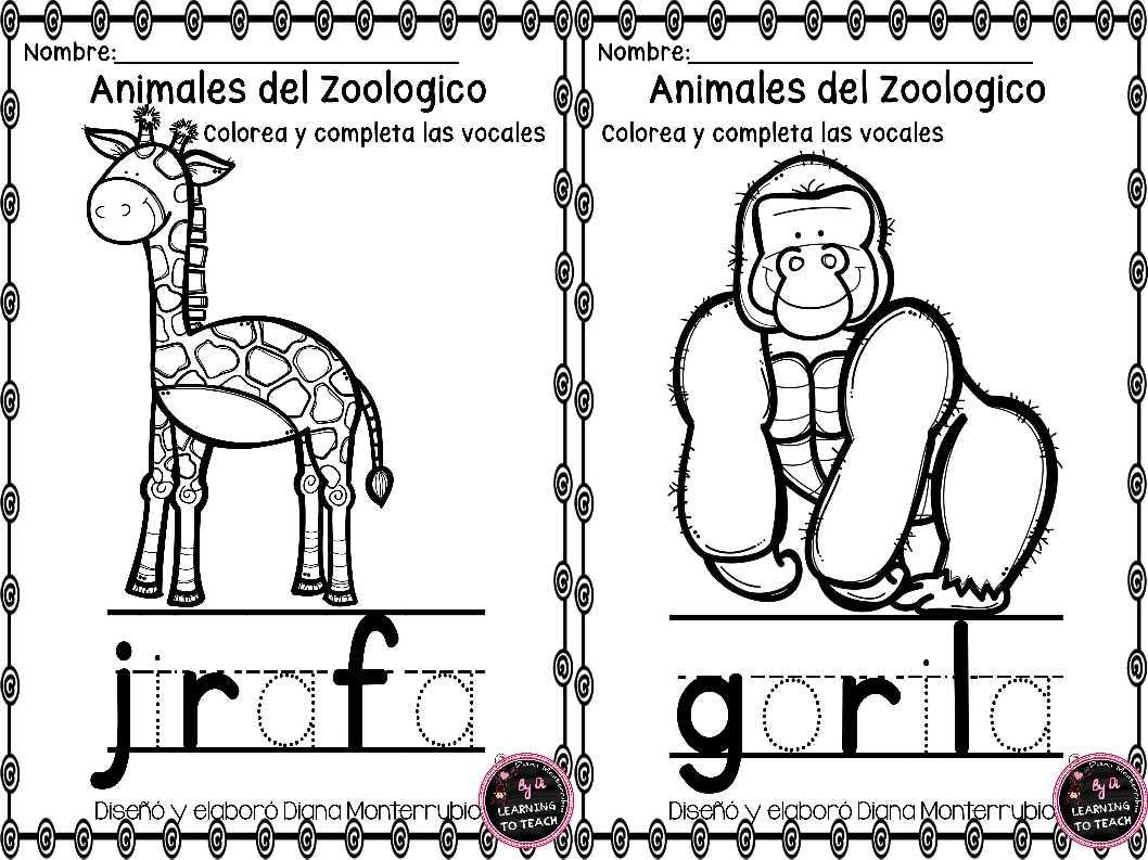 actividades-animales-de-zoologico-10 - Imagenes Educativas