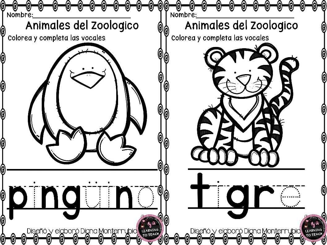 actividades-animales-de-zoologico-2 - Imagenes Educativas