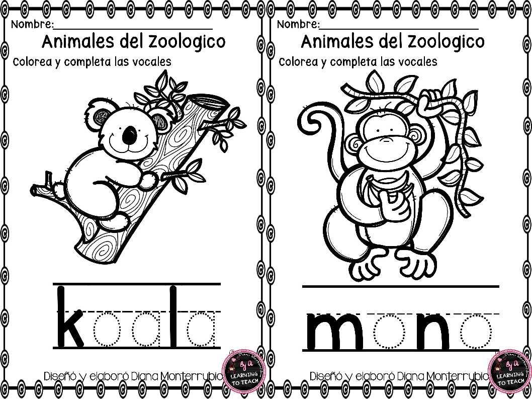 actividades-animales-de-zoologico-7 - Imagenes Educativas