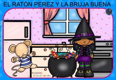 """Cuento pon pictogramas """"El Ratoncito Pérez"""" (3)"""