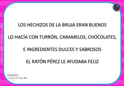 """Cuento pon pictogramas """"El Ratoncito Pérez"""" (4)"""
