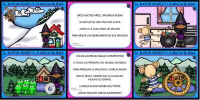 """Cuento pon pictogramas """"El Ratoncito Pérez"""" PORTADA"""
