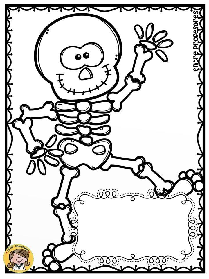 dibujos-para-colorear-el-dia-de-los-muertos-8 - Imagenes Educativas