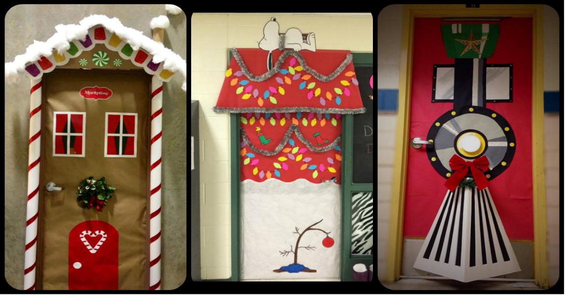 S per ideas totalmente nuevas para decorar las puertas de nuestras clases y salones imagenes - Como decorar un salon en navidad ...