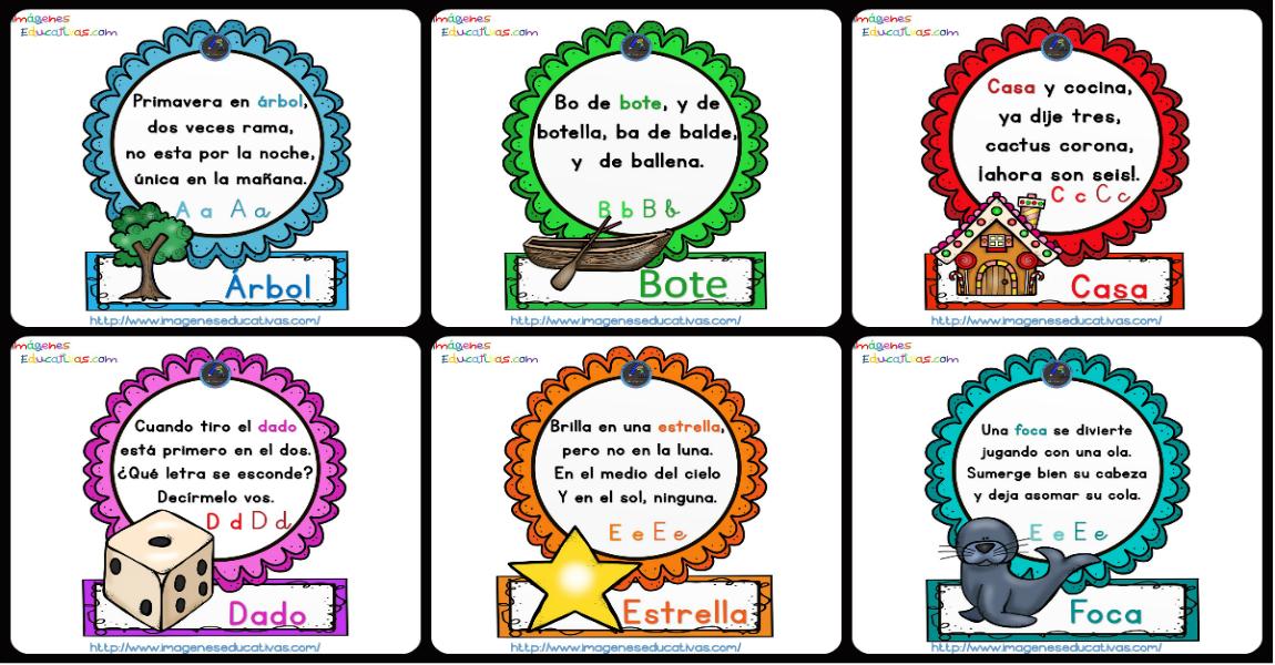 El abecedario de las Rimas PARTE 1 - Imagenes Educativas